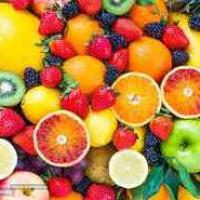 عرضه انواع میوه و سبزیجات